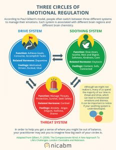 Three Circles of Emotional Regulation